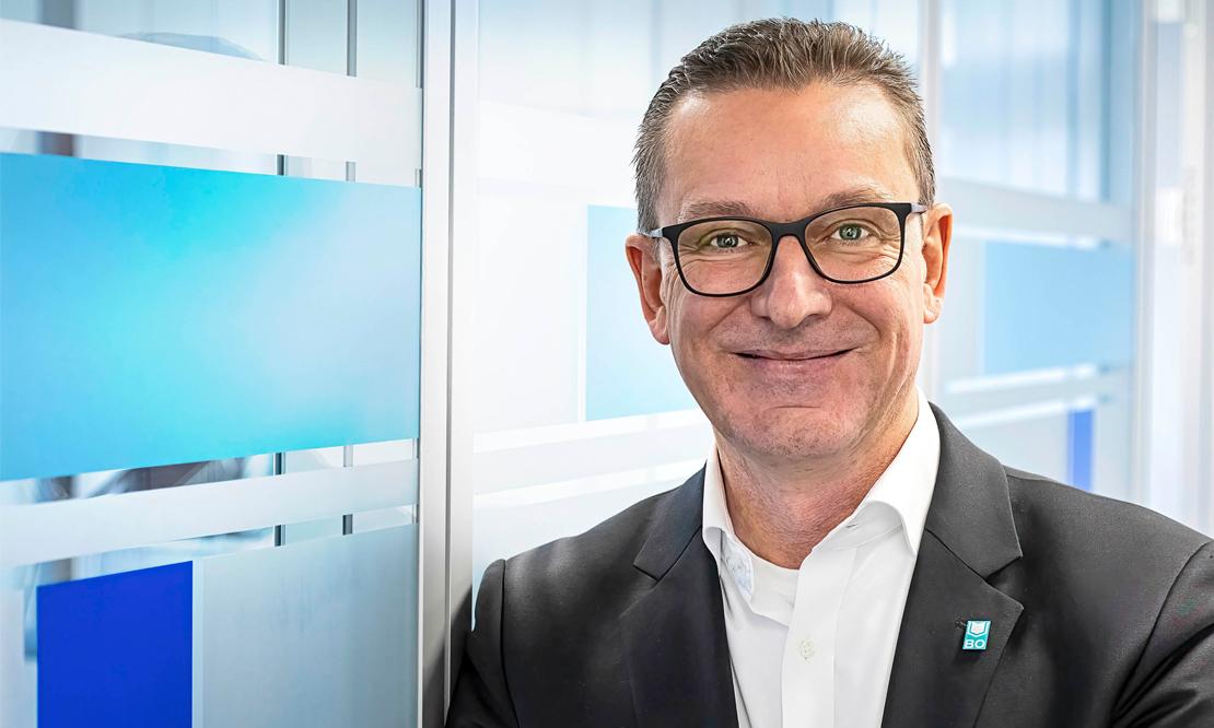 Norbert Riffel, Geschäftsführer der VBW Bauen und Wohnen GmbH, sieht neue Chancen im Relaunch des VBW-Kundenmagazins