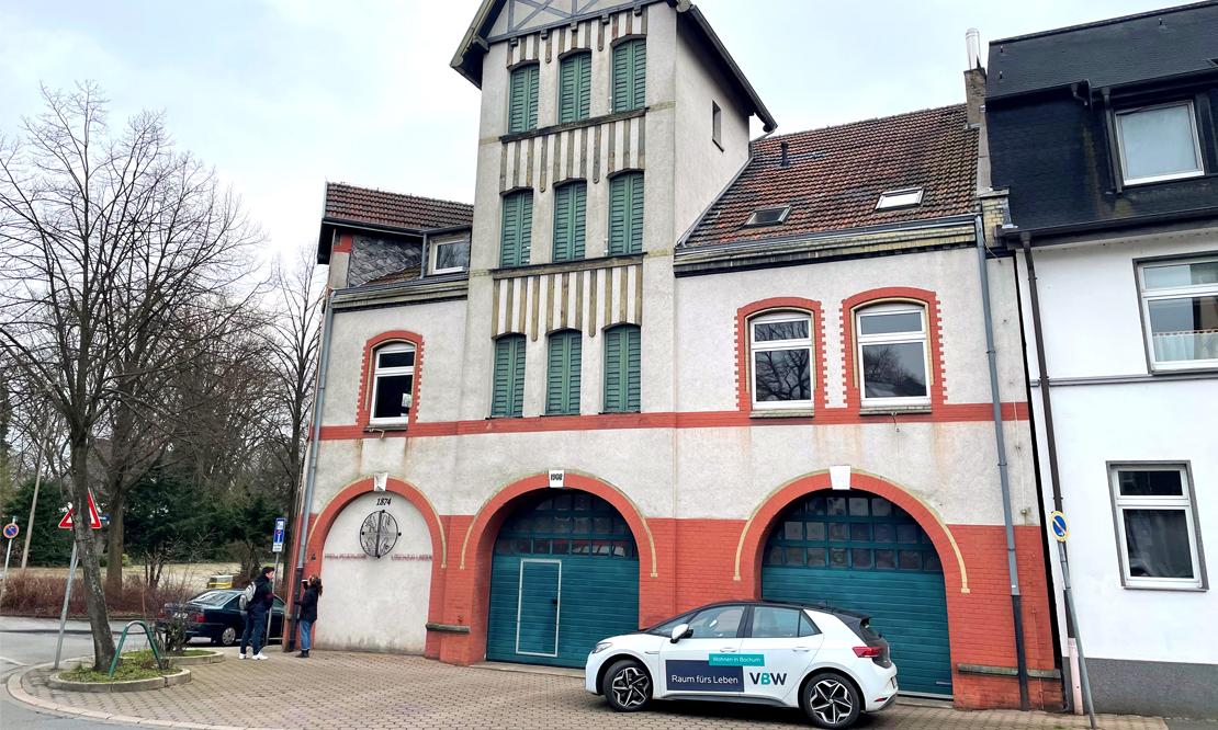 Das Turmhaus der Feuerwehr Bochum-Linden darf nicht mehr betreten werden.
